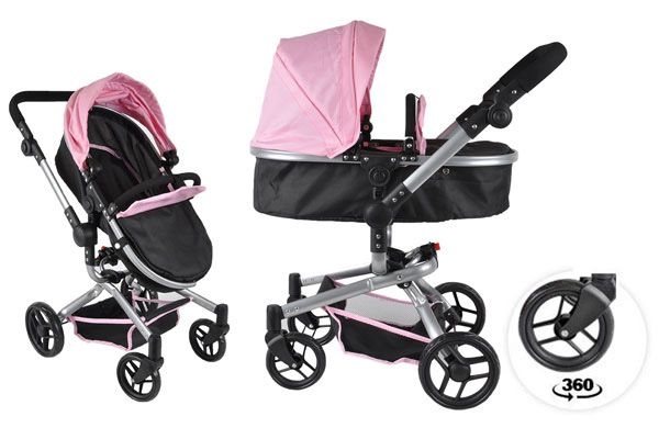 Black Angel 2in1 softpink