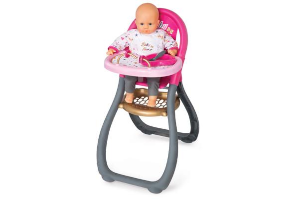 Hoge Stoel Baby.Smoby Stoel Baby Nurse Poppenwagen Nl